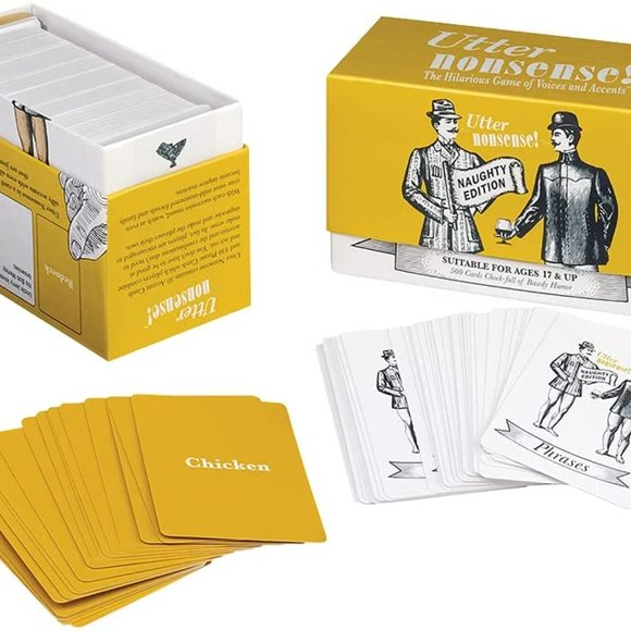 Utter Nonsense Naughty Edition Party Game